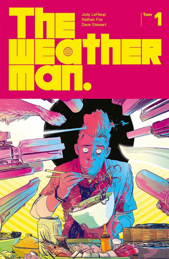 Weatherman tom 1 okładka