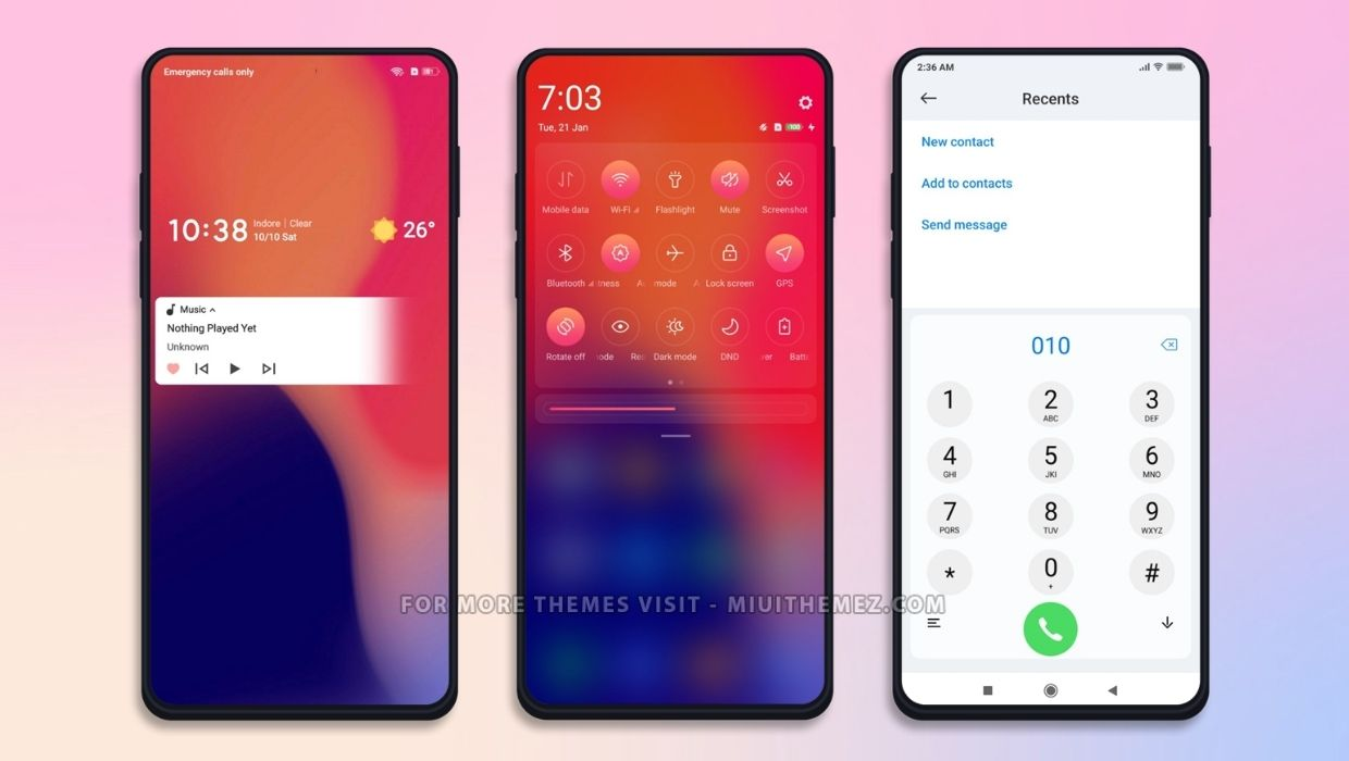 Red Remix Theme for MIUI 11 and MIUI 12
