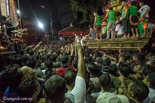 Chariot of the Living Goddess - Kumari