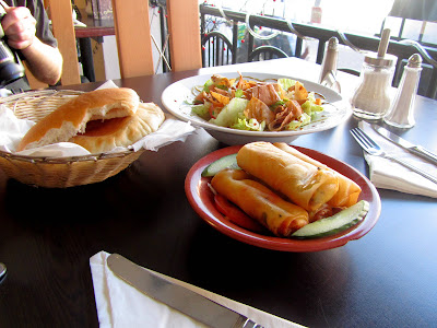 Lebanese food at Beirut