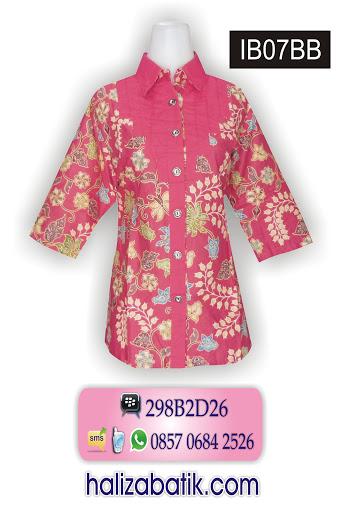 model baju batik wanita, motif batik terbaru, toko online indonesia