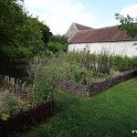 Commanderie de Coulommiers : jardin médiéval