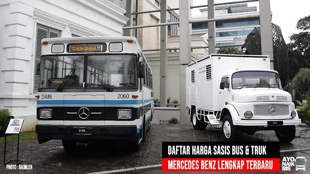 Harga sasis Mercedes Benz Bus Truk