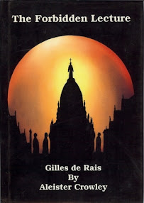 Cover of Aleister Crowley's Book Gilles De Rais The Banned Lecture
