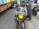 Bapak Bonceng Balita ditabrak Tukang Es depan STIA Tasikmalaya