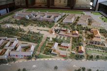 Temple Yaowangmiao : maquette du futur temple