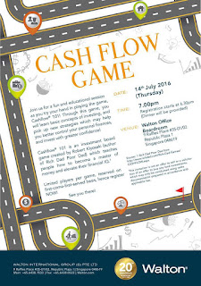 Source: Walton eDM. Play the Cashflow game in Singapore this July.