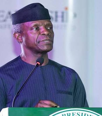 Breaking! VP Osinbajo Says, There's Need To Take Another Look At Amended NBC Code ~Omonaijablog
