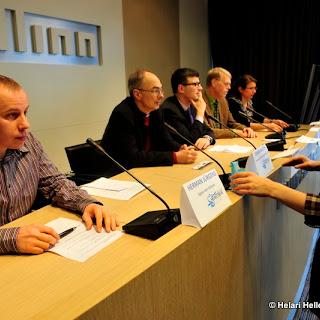 Heartbeat Tallinn pressikonverents Tallinna Pressikeskuses