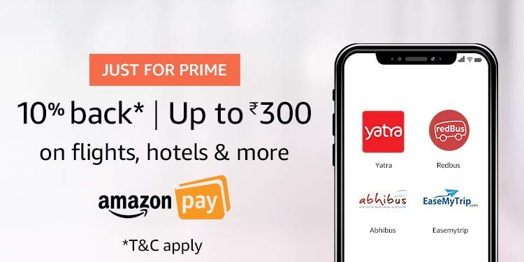 Amazon RedBus Offer - Get Rs.400 Jio Recharge in Rs.260 (Prime Members Only)