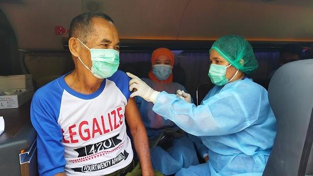 Program vaksinasi Covid-19 door to door BIN berlanjut ke Berngam, Kota Binjai