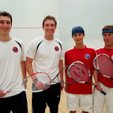 2013 State A Doubles: Champions - John & Dan Roberts; Finalists - Carson & Chris Spahr
