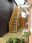 Softwood external stairs and landings