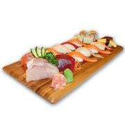 76. Large Assorted Sushi & Sashimi