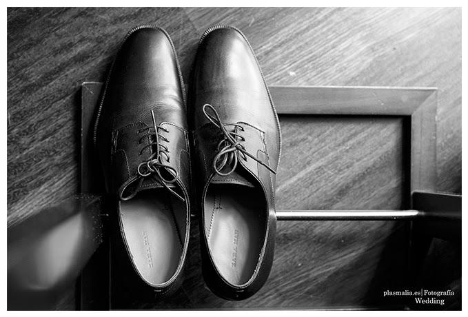 Los zapatos del novio.