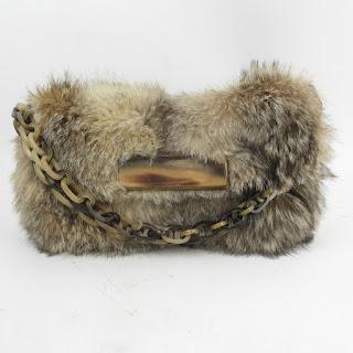 R&Y Augousti  Fur Handbag