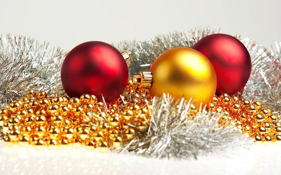 besplatne Božićne pozadine za desktop 1920x1200 free download čestitke blagdani Merry Christmas kuglice za bor
