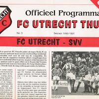 FCU Programmaboekjes 1990-91