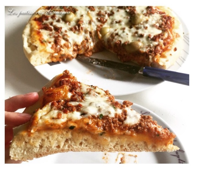 les patisseries de pâte à pizza moelleuse