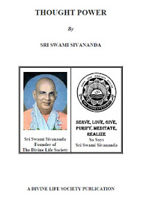 Cover of Sri Swami Sivananda's Book Thought Power
