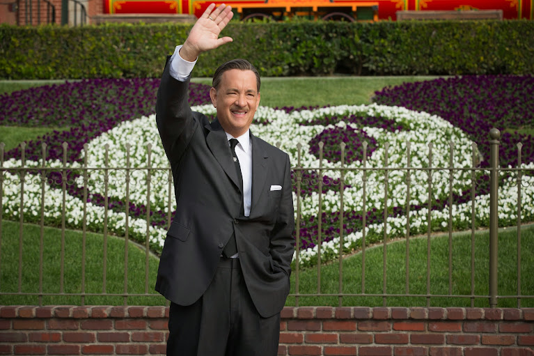 Tom Hanks as Walt Disney in Saving Mr Banks