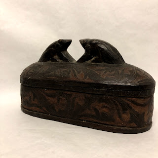 Large Carved Wooden Box