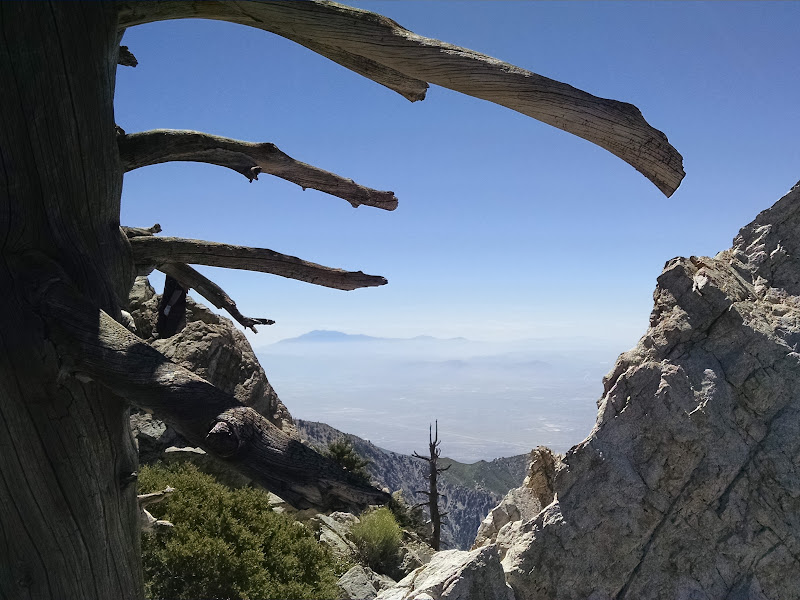Ontario Peak and Bighorn Peak • View of Mount San Jacinto
