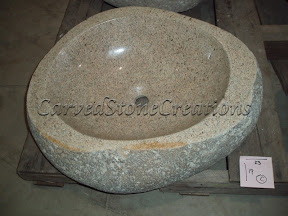 Boulder, Boulder Sinks, Kitchen & Bath, Natural, Sink, Stone, Vessel Sinks