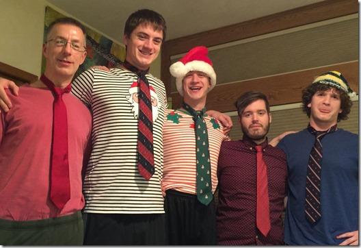 Christmas ties 2017