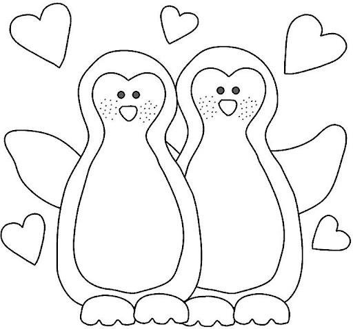 Desenhos Para Colorir Pinguins Para Colorir 1
