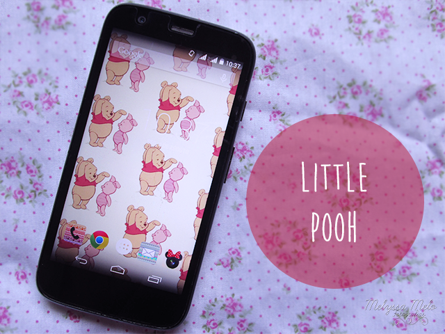 papel de parede celular smartphone wallpaper pooh cute