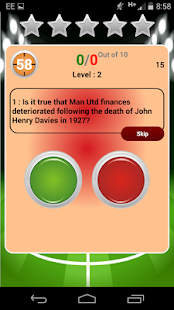 The Big Manchester United Quiz- screenshot thumbnail