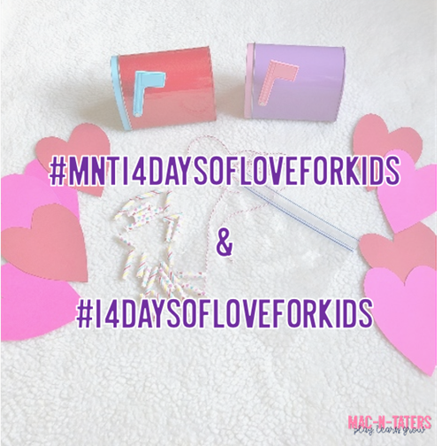 14 Days of Love and Activities for Kids Challenge: Valentine's Day Challenge for Kids