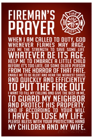 Prayer for all the firefighters that protect us. | Ron's War Room