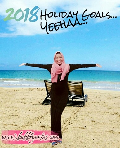 2018 HOLIDAY GOALS...YEEHAA.. (1)