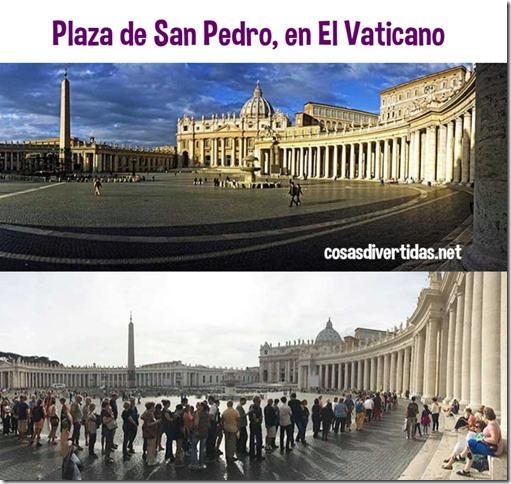 La plaza de San Pedro, en El Vaticano
