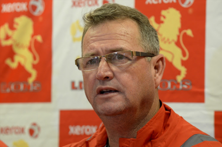 Swys de Bruin during the Xerox Golden Lions team announcement at Emirates Airline Park Media Centre on August 10, 2017 in Johannesburg, South Africa.