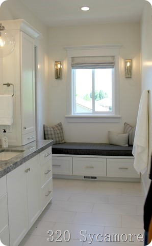 master bathroom seating area