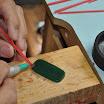 Add Sprues to Wax Piece