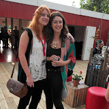 WWW.ENTSIMAGES.COM -   Promoters at   Rekorderlig Cider Midsummer House VIP Opening Night at Victoria Park in the heart of East London June 20th 2013                                                   Photo Mobis Photos/OIC 0203 174 1069