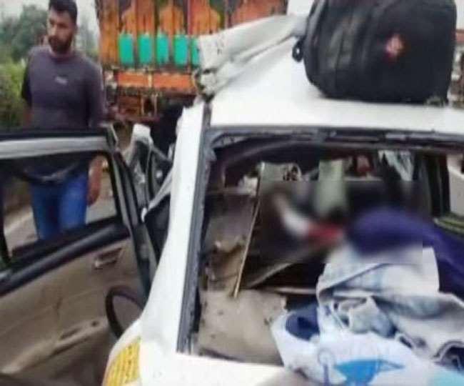 बिहार में भीषण सड़क हादसा, ऑटो रिक्शा-सूमो की जबर्दस्त टक्कर में चार लोगों की मौत, तीन घायल
