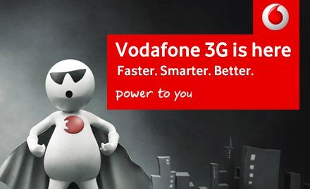 Get 1GB 3G Night Data In Vodafone At Only At Rs. 17 Instead OF 78.