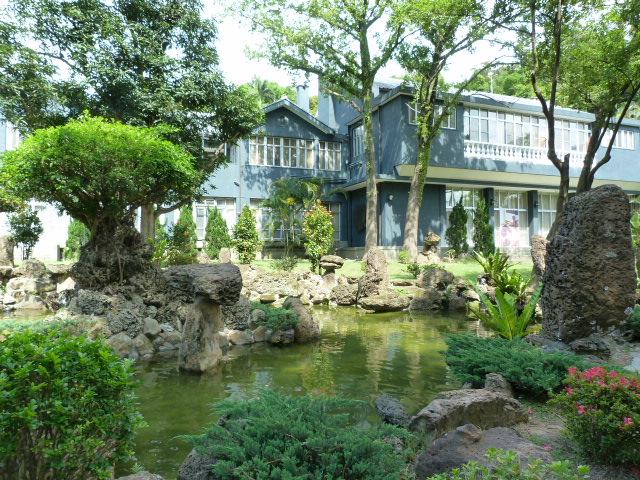 L'une des maisons de CKS,auparavant un jardin botanique du temps de la colonisation japonaise