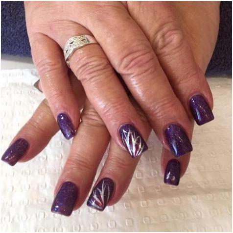 fall acrylic nails art designs 2017  styles art