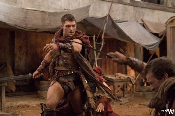 spartacus vengeance episode 208 2012 02 6x4 FULL SPARTACUS: Vengeance Episode 2.08 Ashur VIDEO Saxa Profile SPOILER @spartacus starz