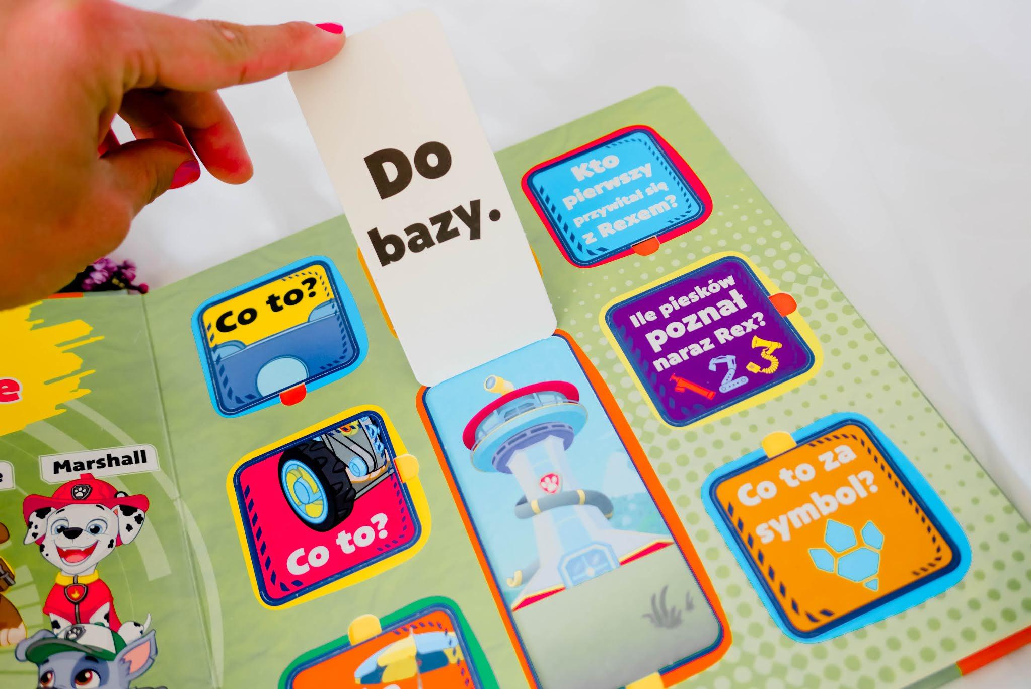 książki z pytaniami dla dzieci