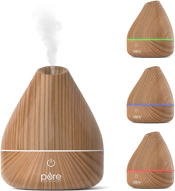 wood look oil diffuser