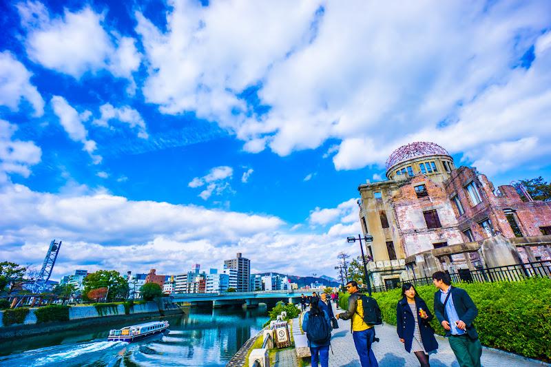 平和記念公園 原爆ドーム3