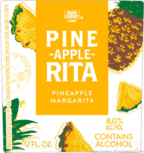 Bud Light Lime Pine-Apple-Rita