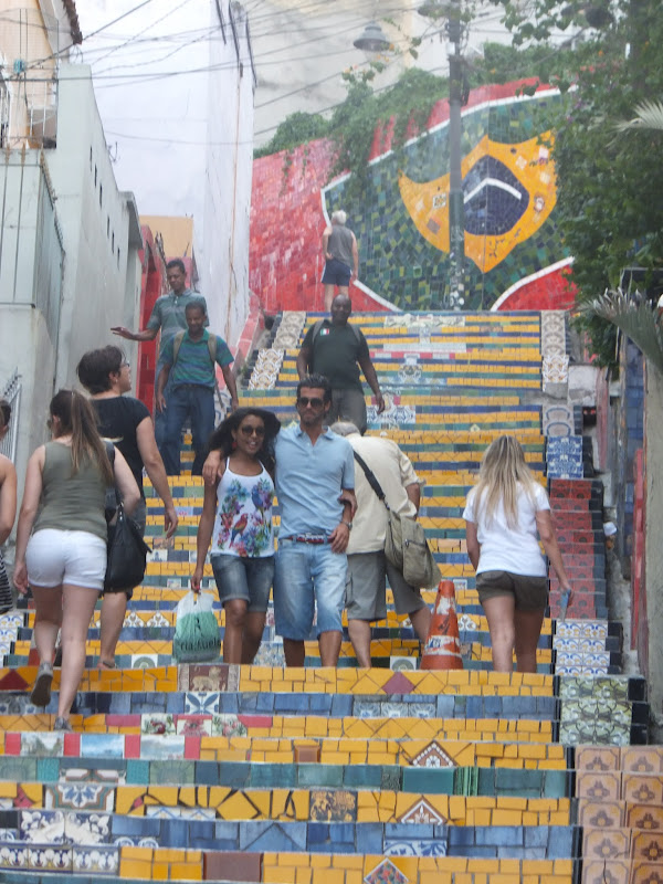 Escadaria Selaron, Rio de Janeiro, art rue, bresil, street art, elisaorigami, travel, blogger, voyages, lifestyle